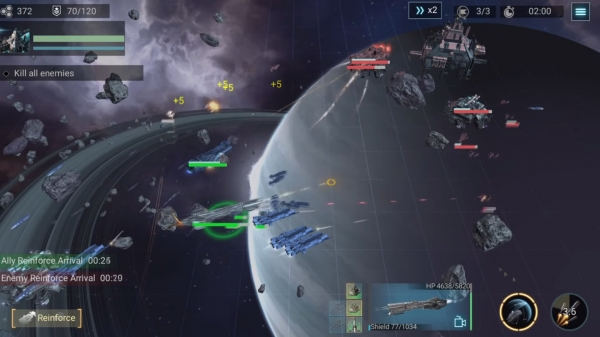 Infinite Galaxy Android Game Image 1