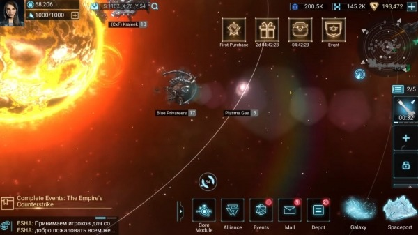 Infinite Galaxy Android Game Image 2