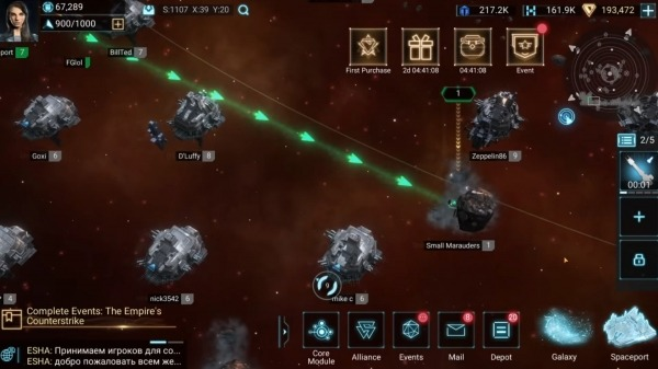 Infinite Galaxy Android Game Image 3