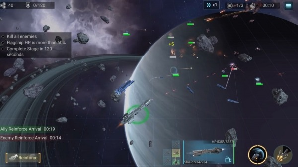 Infinite Galaxy Android Game Image 4