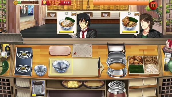 Ramen Craze - Fun Kitchen Cooking Game Android Game Image 2
