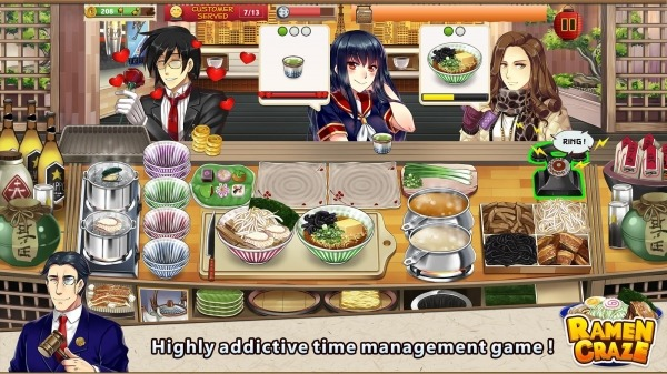 Ramen Craze - Fun Kitchen Cooking Game Android Game Image 3