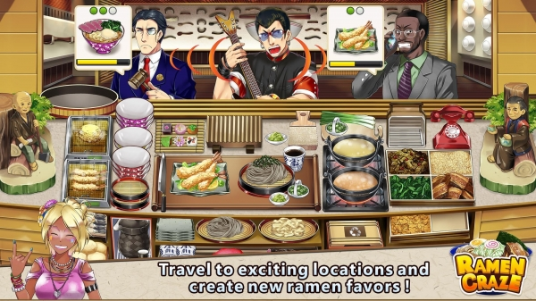 Ramen Craze - Fun Kitchen Cooking Game Android Game Image 4