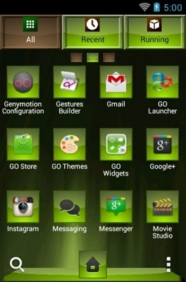 Loving Go Launcher Android Theme Image 2