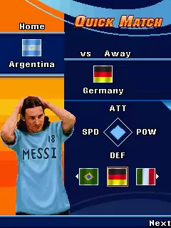 Leo Messi Goal Java Game Image 2
