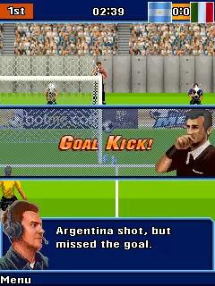 Leo Messi Goal Java Game Image 3