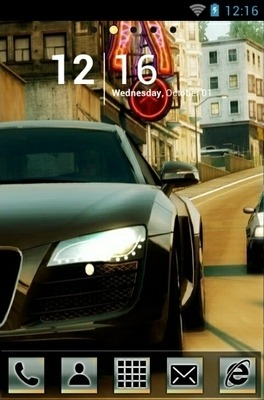 NFS Undercover Go Launcher Android Theme Image 1