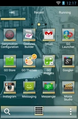 NFS Undercover Go Launcher Android Theme Image 2