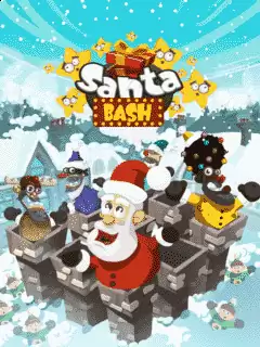 Santa Bash Java Game Image 1