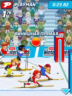 Playman: Winter Games Java Game Image 2