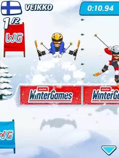 Playman: Winter Games Java Game Image 4