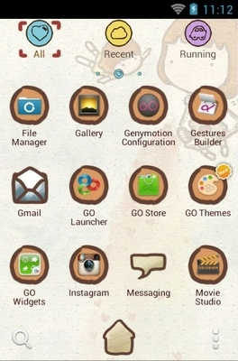 Z Love Go Launcher Android Theme Image 2