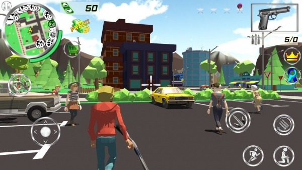 Crime 3D Simulator Android Game Image 2