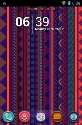 Aztec Go Launcher Android Theme Image 1
