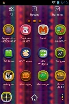 Aztec Go Launcher Android Theme Image 2