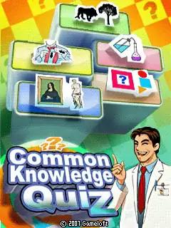 Common Knowledge Quiz Java Game Image 1