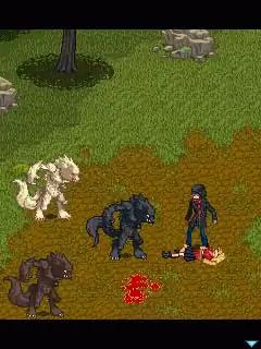 Vampire Romance Java Game Image 3