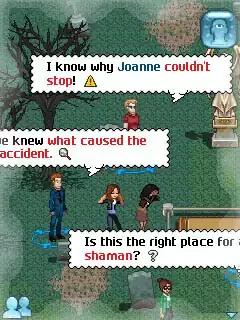 Vampire Romance Java Game Image 4