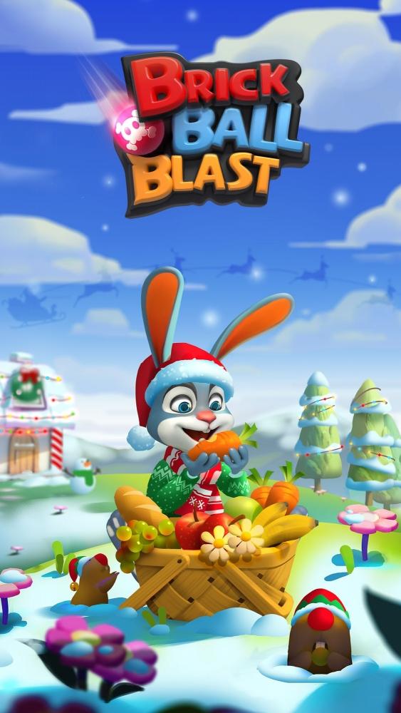 Brick Ball Blast: Free Bricks Ball Crusher Game Android Game Image 1