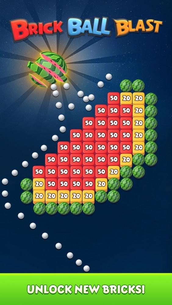 Brick Ball Blast: Free Bricks Ball Crusher Game Android Game Image 2