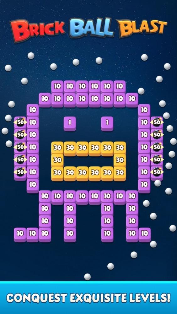 Brick Ball Blast: Free Bricks Ball Crusher Game Android Game Image 3