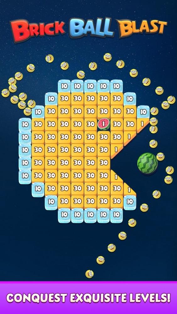 Brick Ball Blast: Free Bricks Ball Crusher Game Android Game Image 4