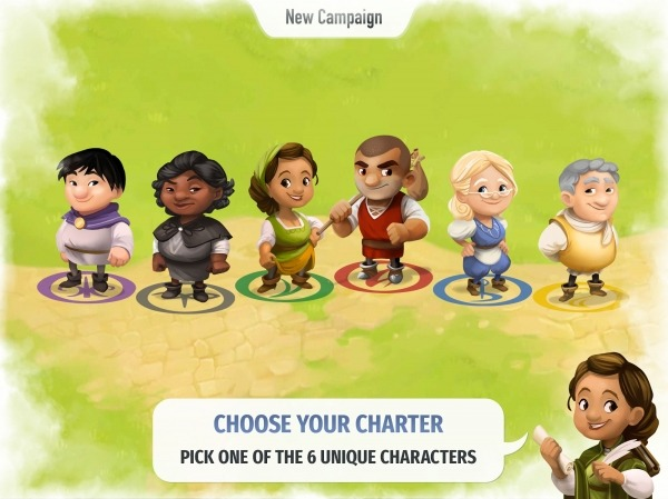 Charterstone: Digital Edition Android Game Image 2