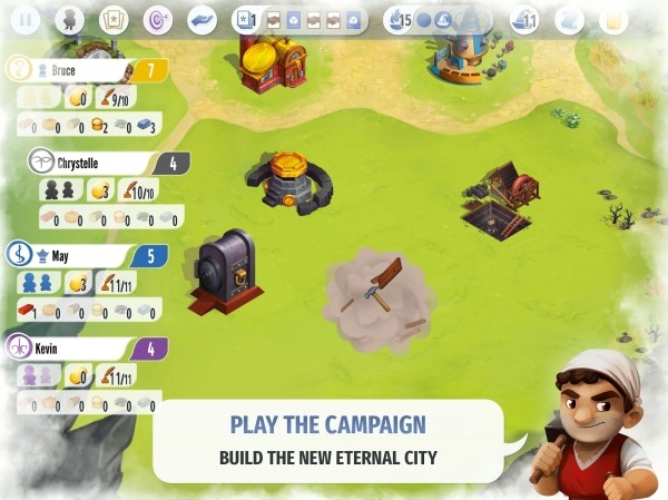 Charterstone: Digital Edition Android Game Image 3
