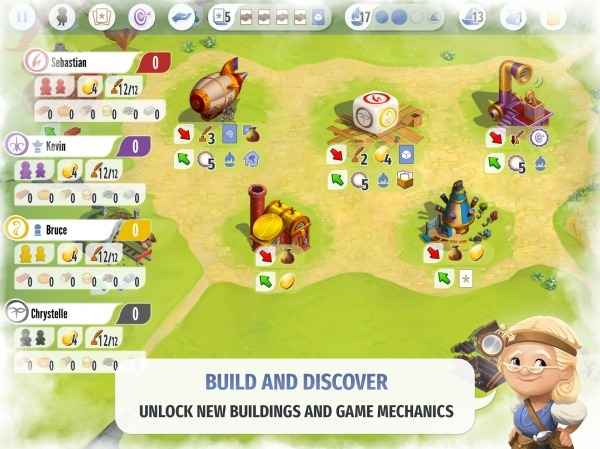 Charterstone: Digital Edition Android Game Image 4
