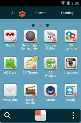 Kitten Lite Go Launcher Android Theme Image 2