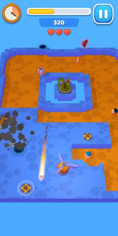 Air Xonix Android Game Image 2