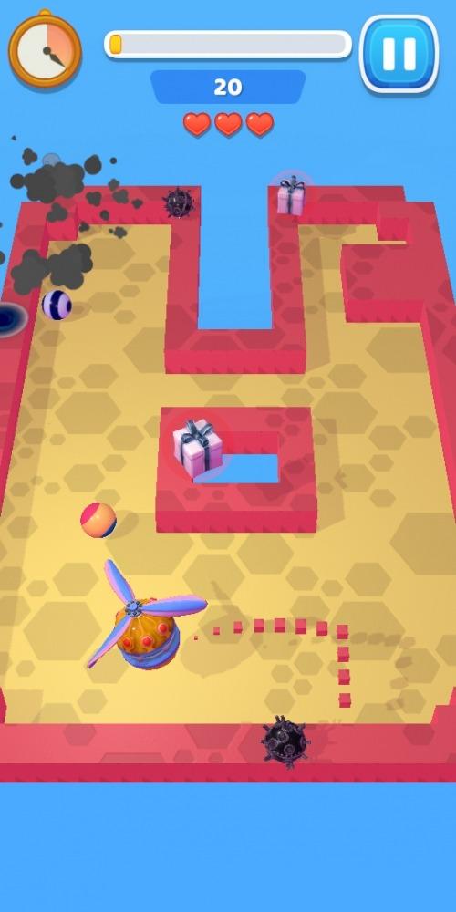 Air Xonix Android Game Image 3