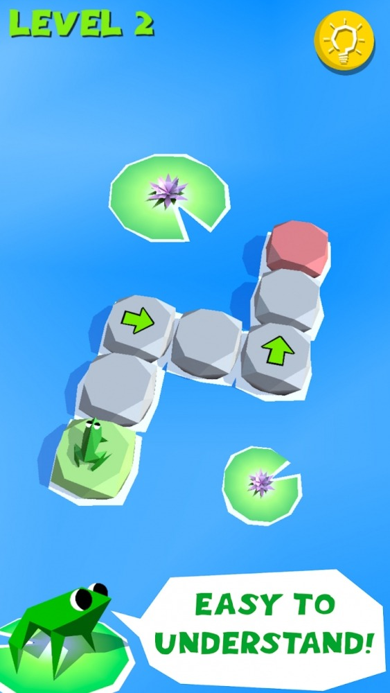 Frog Puzzle Android Game Image 1