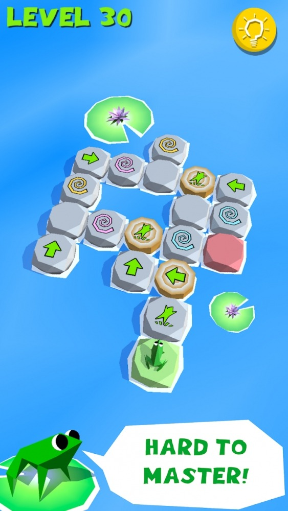 Frog Puzzle Android Game Image 2