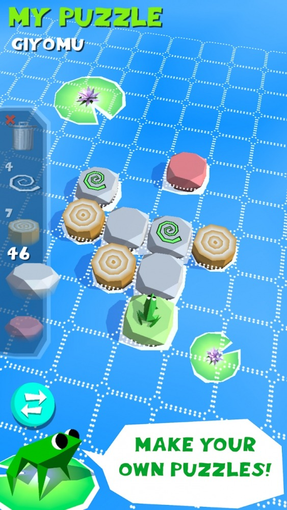 Frog Puzzle Android Game Image 3