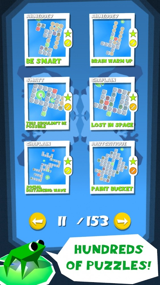 Frog Puzzle Android Game Image 4