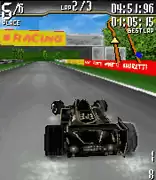 Andretti Racing 3D Java Game Image 2