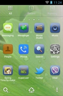 Spring Go Launcher Android Theme Image 2