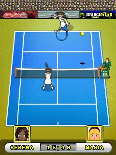 Total Tennis Women's Edition Java Game Image 3