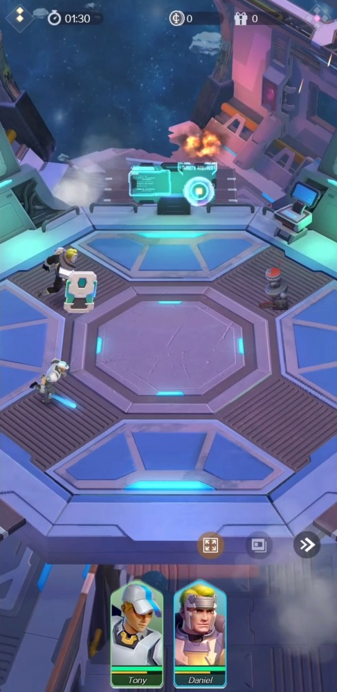 Idle Squad Android Game Image 2