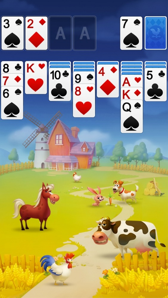 Solitaire - My Farm Friends Android Game Image 3