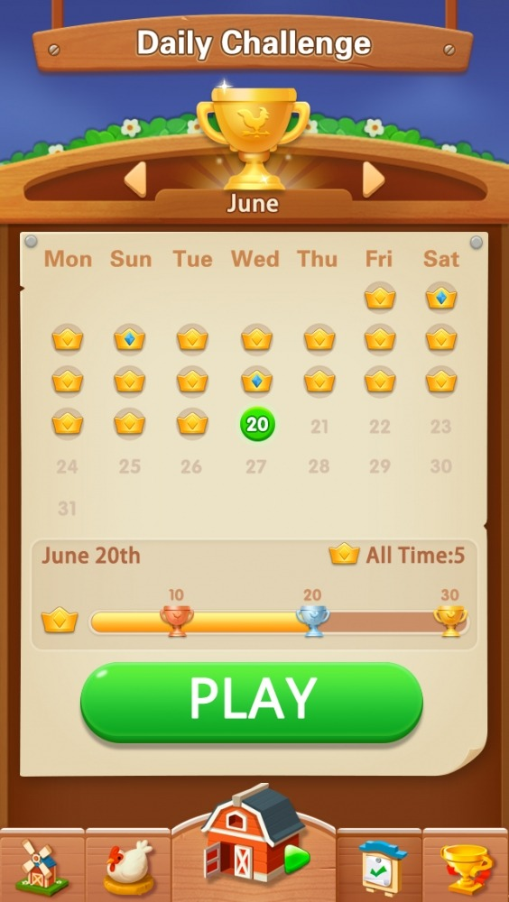 Solitaire - My Farm Friends Android Game Image 4
