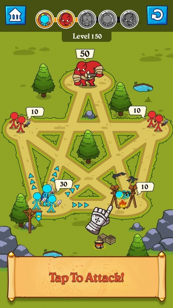 Stick Clash Android Game Image 1