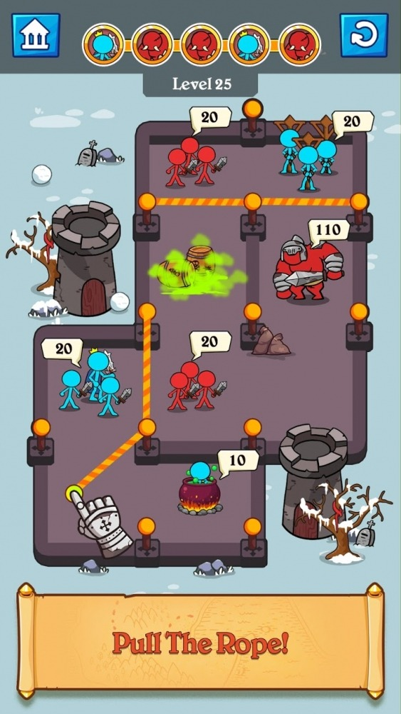 Stick Clash Android Game Image 2