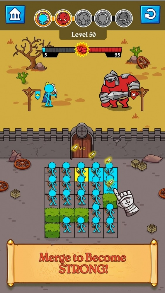 Stick Clash Android Game Image 3