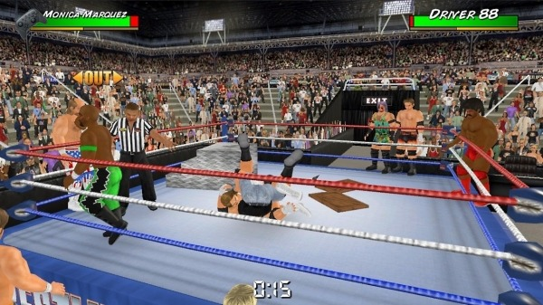 Wrestling Empire Android Game Image 3
