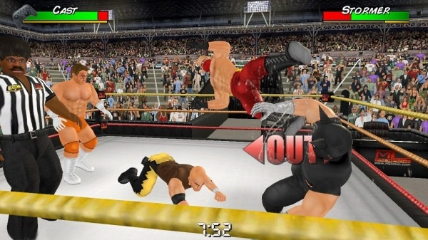 Wrestling Empire Android Game Image 4