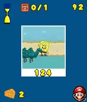 Sponge Bob Paparazzi Parade Java Game Image 2