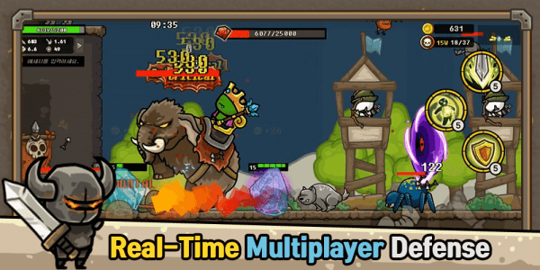 Castle Defense Online Android Game Image 2