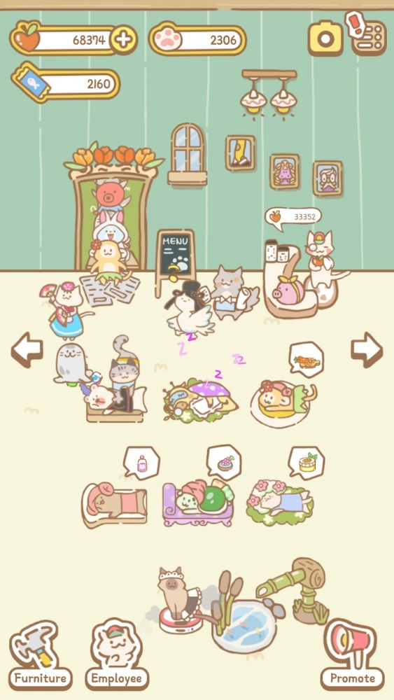 Cat Spa Android Game Image 1